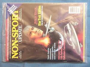 STAR TREK NON-SPORT UPDATE 1993 VOLUME 4 NO. 3  KAHN 2 FREE CARDS INSIDE SKYBOX