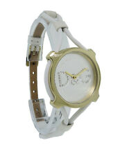 Dolce & Gabbana Time DW0842 Women's Petite Analog White Spaghetti Leather Watch