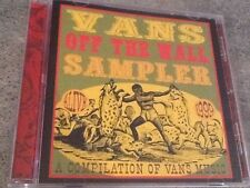 Vans Off The Wall Sampler Cd Refused Dropkick Murphys Millencolin Union 13 etc