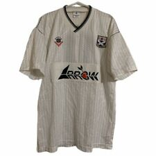 1988 1990 Ayr United Match Player Issue Home Football Shirt #7 - L
