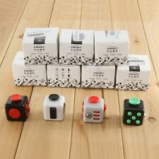 Magic Fidget Cube Desk Children Toys Anxiety Adults Stress Relief Gift 6-side