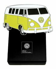 Volkswagen Belt Buckle VW Camper Yellow & White - Authentic Officially Licensed