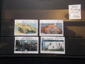 Isle of Man 2007 Commemorative Stamps~Paintings~S/A~ Fine Used Set~UK Seller