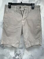 American Eagle Outfitters Extreme Flex Dark Gray Slim Sz 28 Mens Chino Shorts