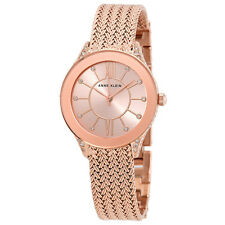 Anne Klein Rose Gold Dial Ladies Watch 2208RGRG
