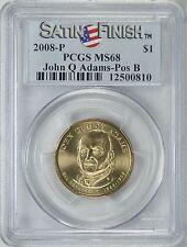 2008-P JOHN QUINCY ADAMS $1 POSITION B SATIN PCGS MS68