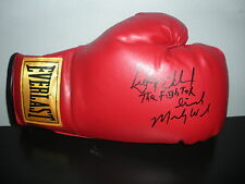 Micky Ward & Dicky Eklund The Fighter SIGNED Everlast Boxing Glove COA!