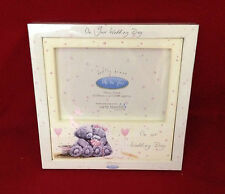 ME TO YOU BEAR TATTY TEDDY SOFTLY DRAWN ON YOUR WEDDING DAY PHOTO FRAME GIFT
