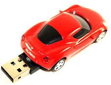 ALFA ROMEO 4c 4gb USB 2.0 Memory Stick Chiavetta Auto Forma ROSSO NUOVO ORIGINALE 5916741