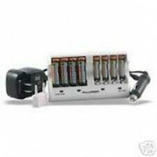 8 Pack AAA NiMH Batteries 1000mAh with Charger 110-220v