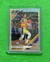 DANNY GREEN PRIZM SILVER CARD LOS ANGELES LAKERS 2019-20 DONRUSS OPTIC BASKETBAL