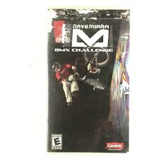 Dave Mirra BMX Challenge Sony PSP 2006 Tested and Working No Manual