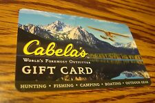 CABELAS GIFT CARD NO VALUE-Never Used or Activated Collectable 2012 New