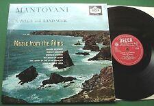 Mantovani / Rawicz & Landauer Music from Films inc Dream of Olwen + LK 4154 LP