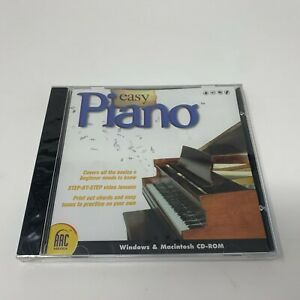 Easy Piano - For MAC & PC (BRAND NEW)