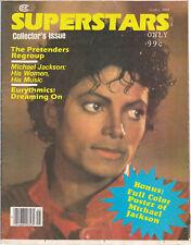 Michael Jackson SUPERSTARS American USA Magazine Poster Postermag 1984