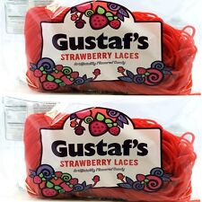 Gustaf's Licorice Strawberry Laces, 4 lbs. Free Shipping in USA