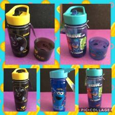 Kids Sport Drink Water Bottle PJ Masks Batman Cookie Monster Can Be Personalised