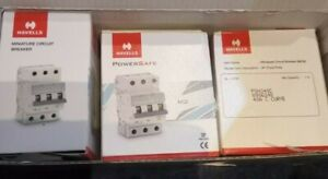Havells PSH340C 3 Pole 40a Type C MCB - Powersafe BRAND NEW (3 available)