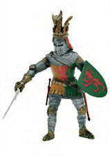 Medieval soldier green English Kinght w/ sword 1/16 figure - Energy Toys bbi