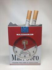Vintage Marlboro Cigarette Pack Clock,