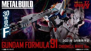 (DHL) Bandai Metal Build Gundam Formula F91 Chronicle White Ver. Action Figure