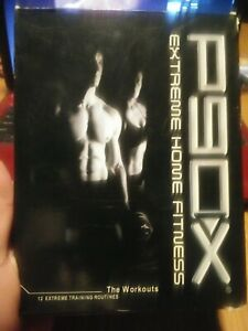 P90X EXTREME HOME FITNESS WORKOUT 12 TRAINING ROUTINES CARDIO INTERVALS TONY...