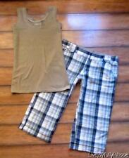 NORTH RIVER OUTFITTERS & MATYY M ~ Size 8 S ~ Tank & Hamptons BERMUDA Shorts Lot