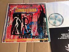 STEVIE WONDER - SOUNDTRACK - JUNGLE FEVER - LP - ZL72750 - GERMANY 1991 (DI986)