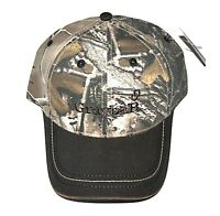 Graybar Hat Brown and Camo Strapback Adult Adjustable Embroidered