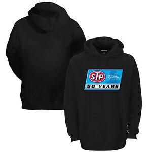 Richard Petty Checkered Flag Rival Pullover Hoodie - Black