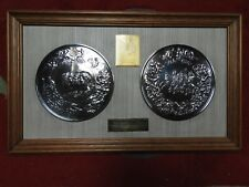 The Great Waterloo medal -Silver Pistrucci medal for the Battle of Waterloo 1815