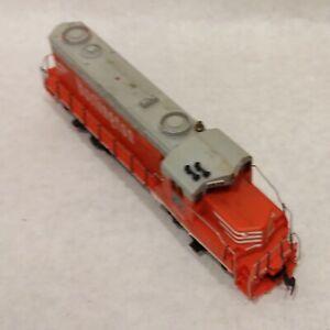 Tyco HO Train Burlington Route EMD GP20 Powered Diesel Locomotive Handrails