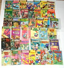 41 Gold Key Walt Disney Mickey Mighty Mouse Lost in Space Winnie the Pooh More
