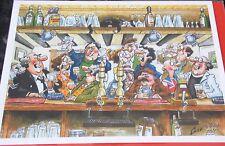 """Carte Vierge """"le village Inn"""" par Chris Guy. Le petit Angleterre Galerie cartes"""
