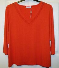 NEW QUALITY COLEBROOK BY WINDSMOOR BEAUTIFUL CORAL PINK SIZE L ~ 18 # 952