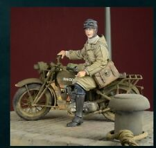 DDAY MINIATURE WRNS DESPATCH RIDER 1939/45 WWII Scala 1/35 Cod.35031