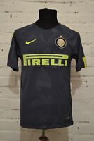 INTER MILAN 2017/2018 AWAY FOOTBALL SOCCER SHIRT JERSEY MAGLIA CALCIO MENS S