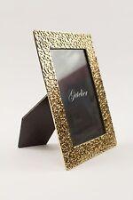 Leopard frame 4x6 Titanium Gold (hand-made lost-wax bronze casting)