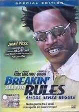 Dvd **BREAKIN' ALL THE RULES ♥ AMORE SENZA REGOLE** con Jamie Foxx nuovo 2005