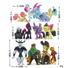 12Pcs My Little Pony The Movie Captain Celaeno Grubber Action Figures Kid Toys