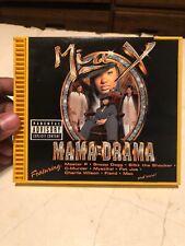 Mia X Mama Drama Cd Rap Hip Hop 1998 Snoop Dog Fat Joe  Mac Producer Master P