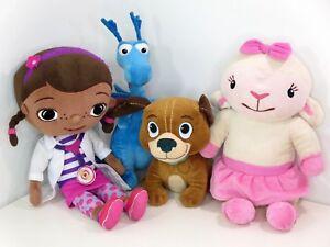 "Doc McStuffins Stuffy Doctor Lambie Plush Dragon Fido 14""- 20"" Large  Disney"