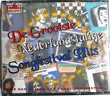 "EUROVISION - DOUBLE CD ""DE GROOTSTE NEDERLANDSTALIGE SONGFESTIVAL HITS"""