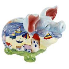 Spardose Sparschwein bunt Urlaub große Ohren Geldgeschenk Urlaubskasse Geschenk