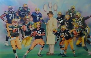 VINCE LOMBARDI SUPER BOWL CHAMPS 8X10 PHOTO GREEN BAY PACKERS PICTURE FOOTBALL