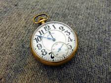 H4A Illinois BUNN SPECIAL 16s 21j Antique GF Railroad Grade Pocket Watch c. 1922