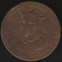 1792 John Of Gaunt Duke Of Lancaster Halfpenny Token | Pennies2Pounds