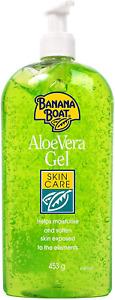 Banana Boat Aloe Vera Skin Care Gel Large 453g Pump Bottle