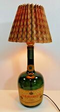 Vintage Courvoisier Cognac Bottle Lamp EUC working